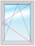 Окно ПВХ 1500х1000 стеклопакет 4-10-4-10-4
