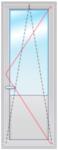 Dexen Lider В58 2150х700 стеклопакет 24мм Axor