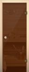 Дверь Бронза, прозрачное